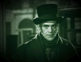 Boris Karloff in The Body Snatcher