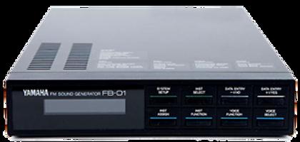 YamahaFB-01 synthesizer