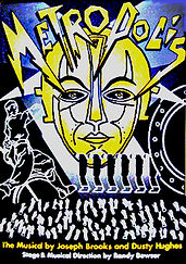 Metropolis the musical at Pentacle Theatre