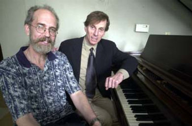 Composer Joseph Brooks and director Randy Bowser