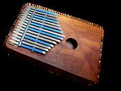an African Kalimba musical instrument