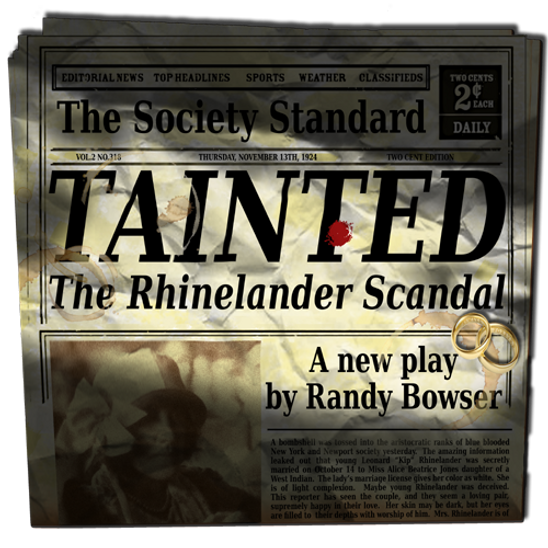 promo image for Tainted the courtroom drama about the Rhinelaner mixed marrige scandal of the 1920's