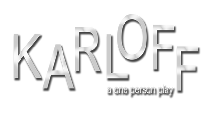 KARLOFF the play's logo