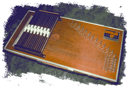the Autoharp sampled for RBow Producton software musical instrument
