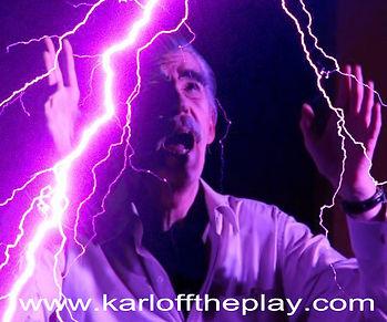 Randy Bowser as Boris in KARLOFF the play