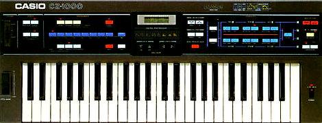 Casio CZ-1000 synthesizer