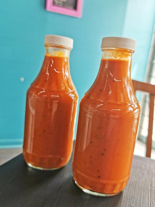 Sauce BBQ faible teneur en glucides (keto)
