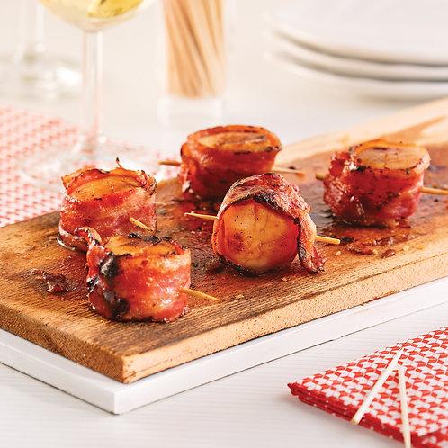 Pétoncle au bacon