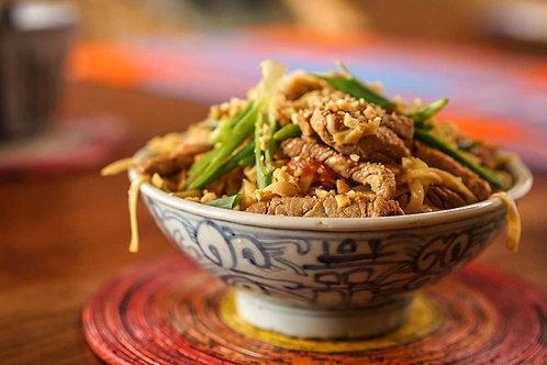 Porc thaï à l'arachide