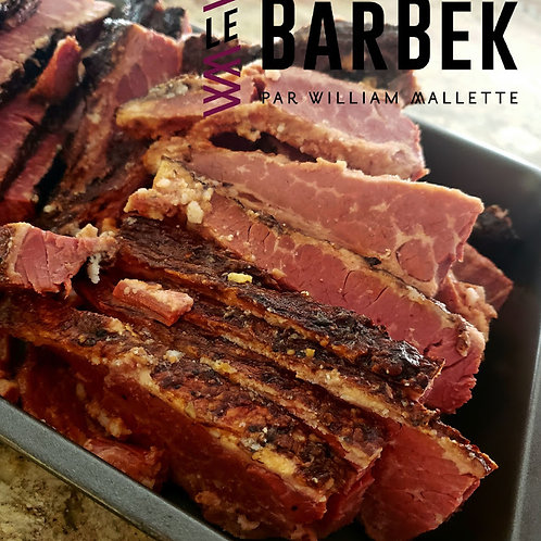 Viande fumé du barbek extra bacon