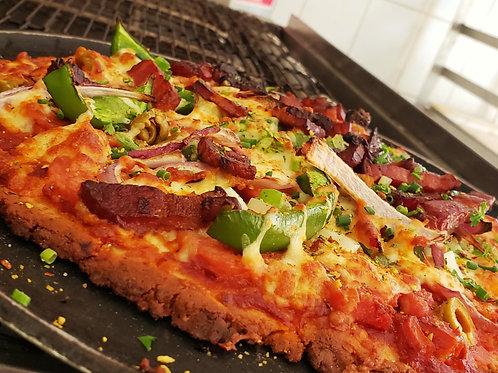 Pizza keto façon BarBeK