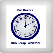 Bus Drivers HOS Recap Calculator icon