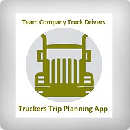Truckers Trip Planning App For Team Company Drivers icon