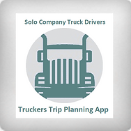 Truckers Trip Planning App For Solo Company Drivers icon