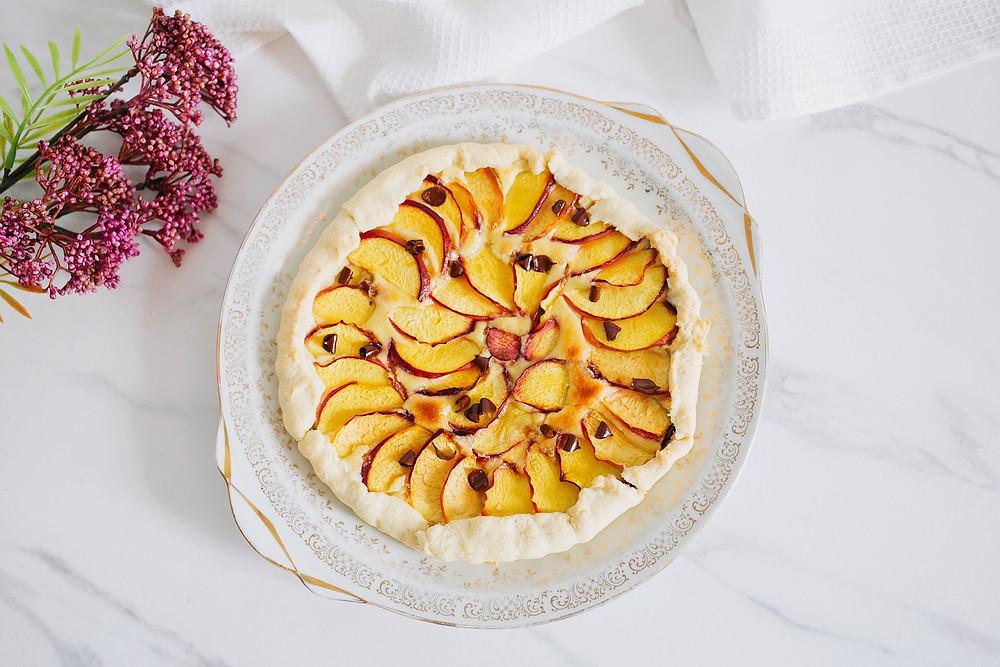 Recette facile tarte nectarine