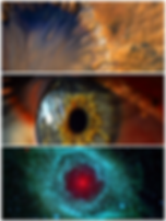 vue aérienne de la nasa, oeil humain, nébuleuse d'Hélice, Oeil de Dieu