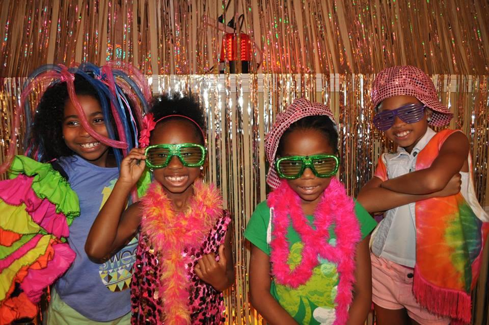Fashion show spa party