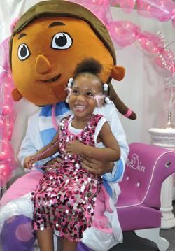 Doc McStuffins party character