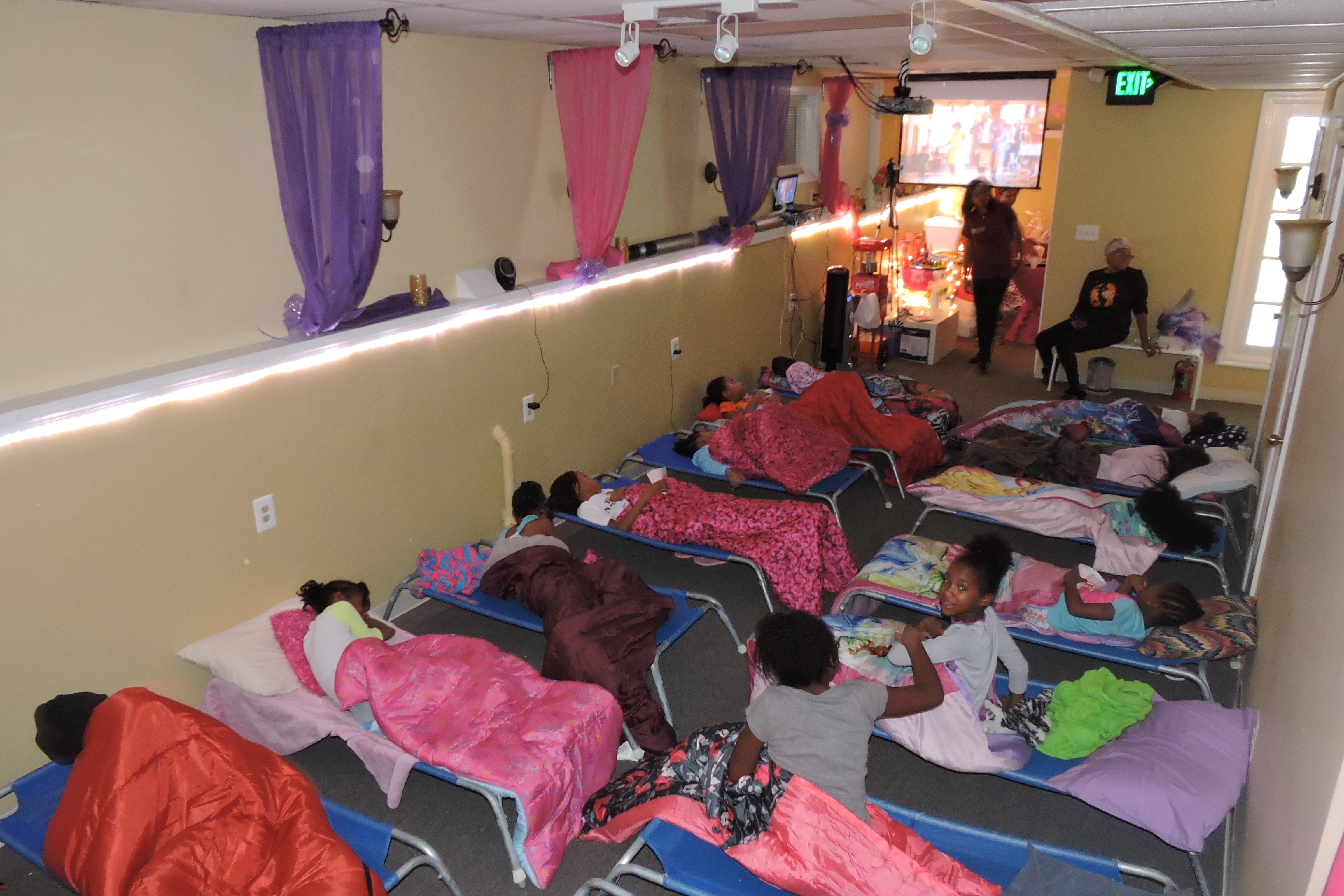 Slumber Spa Party