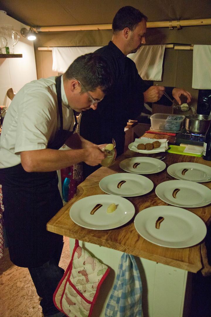 Chefs fine dining
