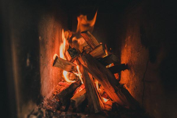 Roaring fires