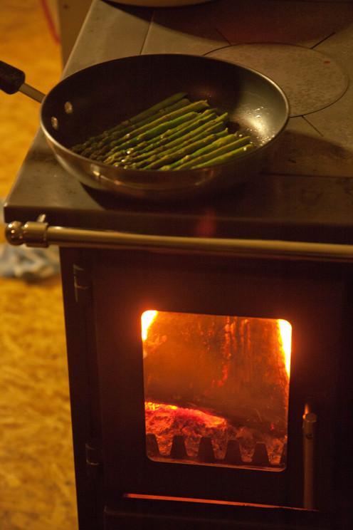 Sauted asparagus