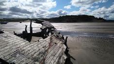 Shipwreck near Instow