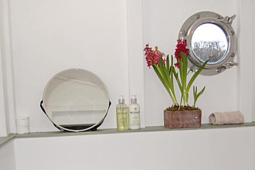 Mirror and porthole