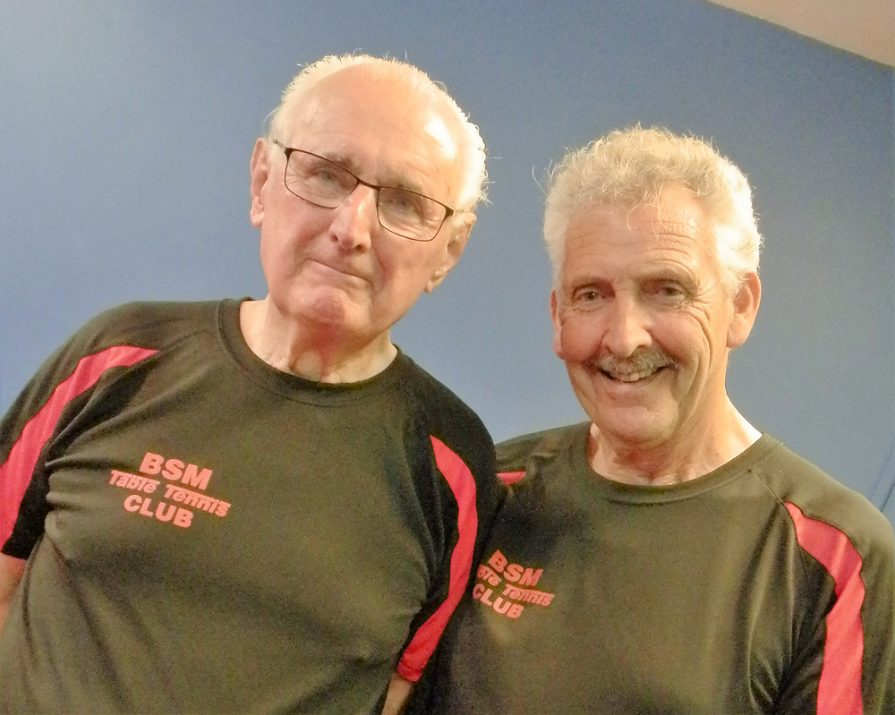 Friends reunited, old school mates Tom Bell and Tony Branham. Tony was making his debut for the F Team.