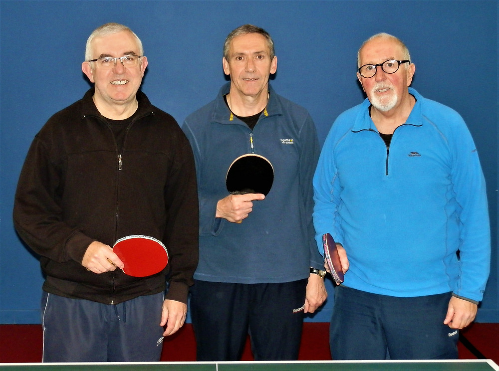 B Team - Barry, Dave & Colin