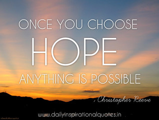 Disappointment v Hope