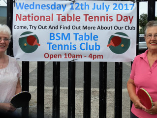 Table Tennis Day showcases success!