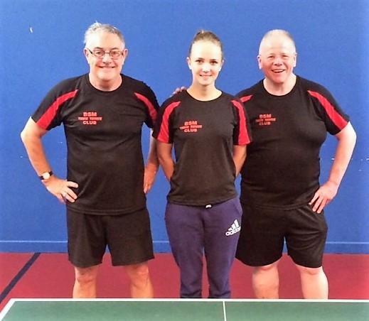 Ian McElwee, Ula Kuczek & Les Dodd - the D Team