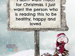 Christmas Thoughts......