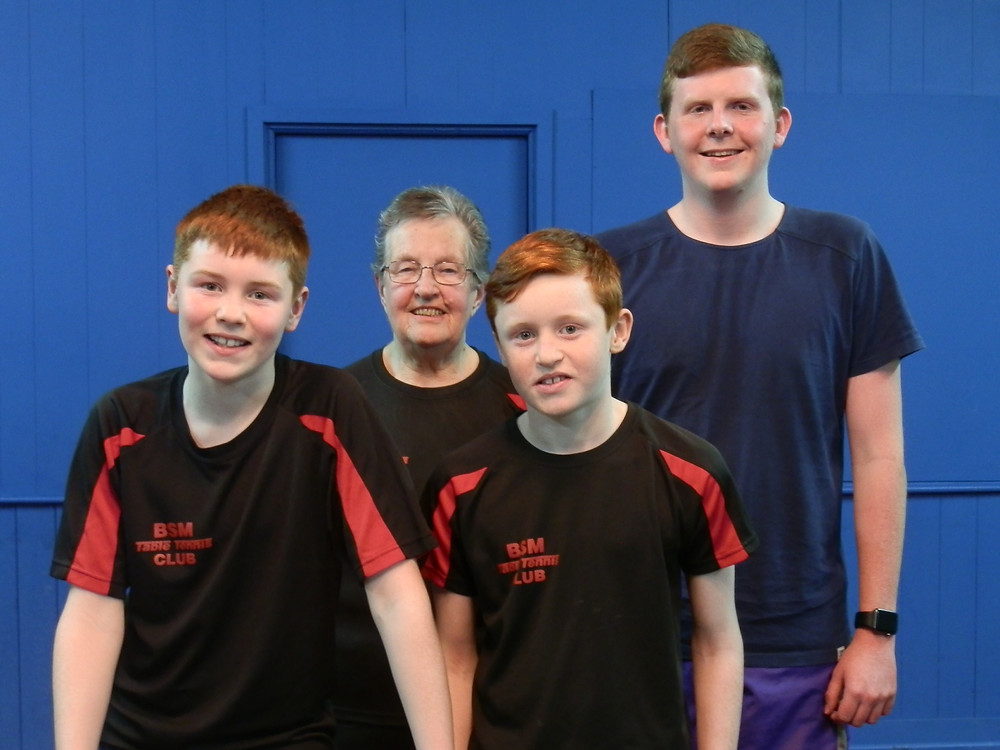 G Team - Euan, Barbara, Finn & David