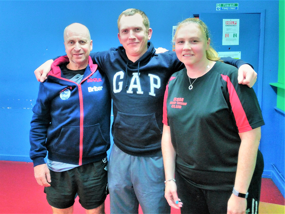3 of the A Team members, Keith Williams, Dermot Tierney and Clare Peers
