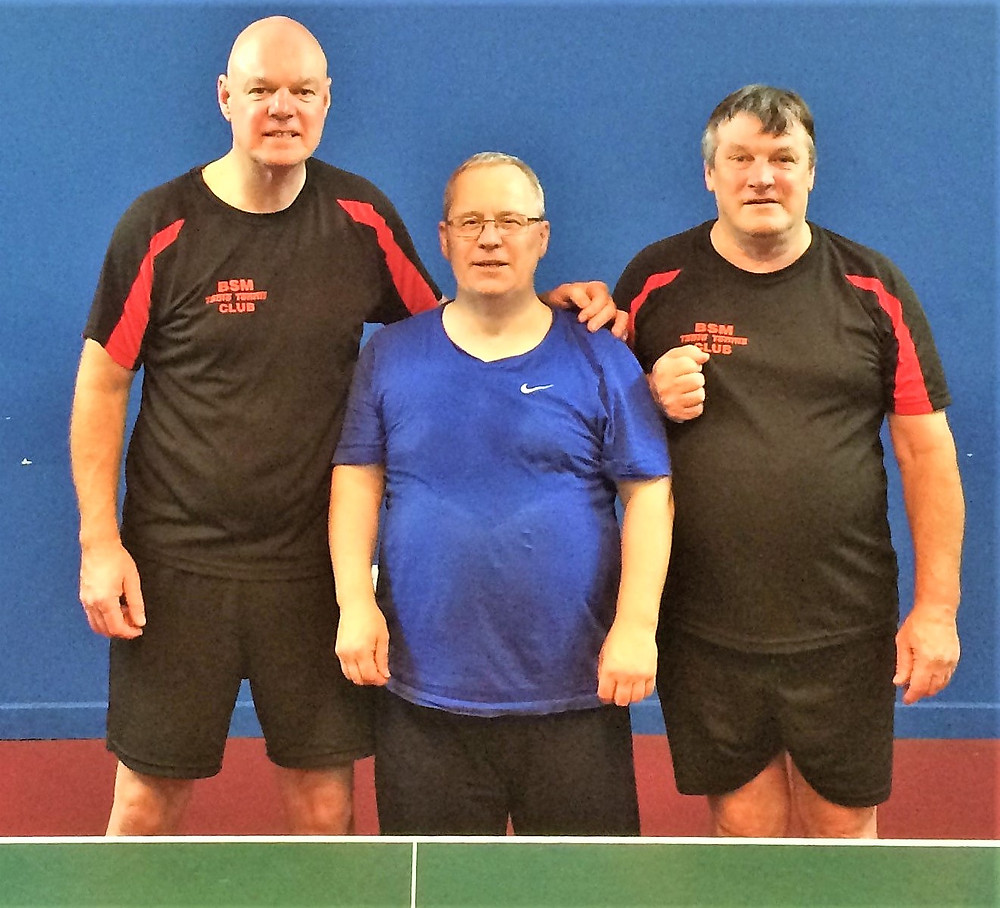 Dave Noden, Andrew Armstrong & Ted Cramsie - the C Team