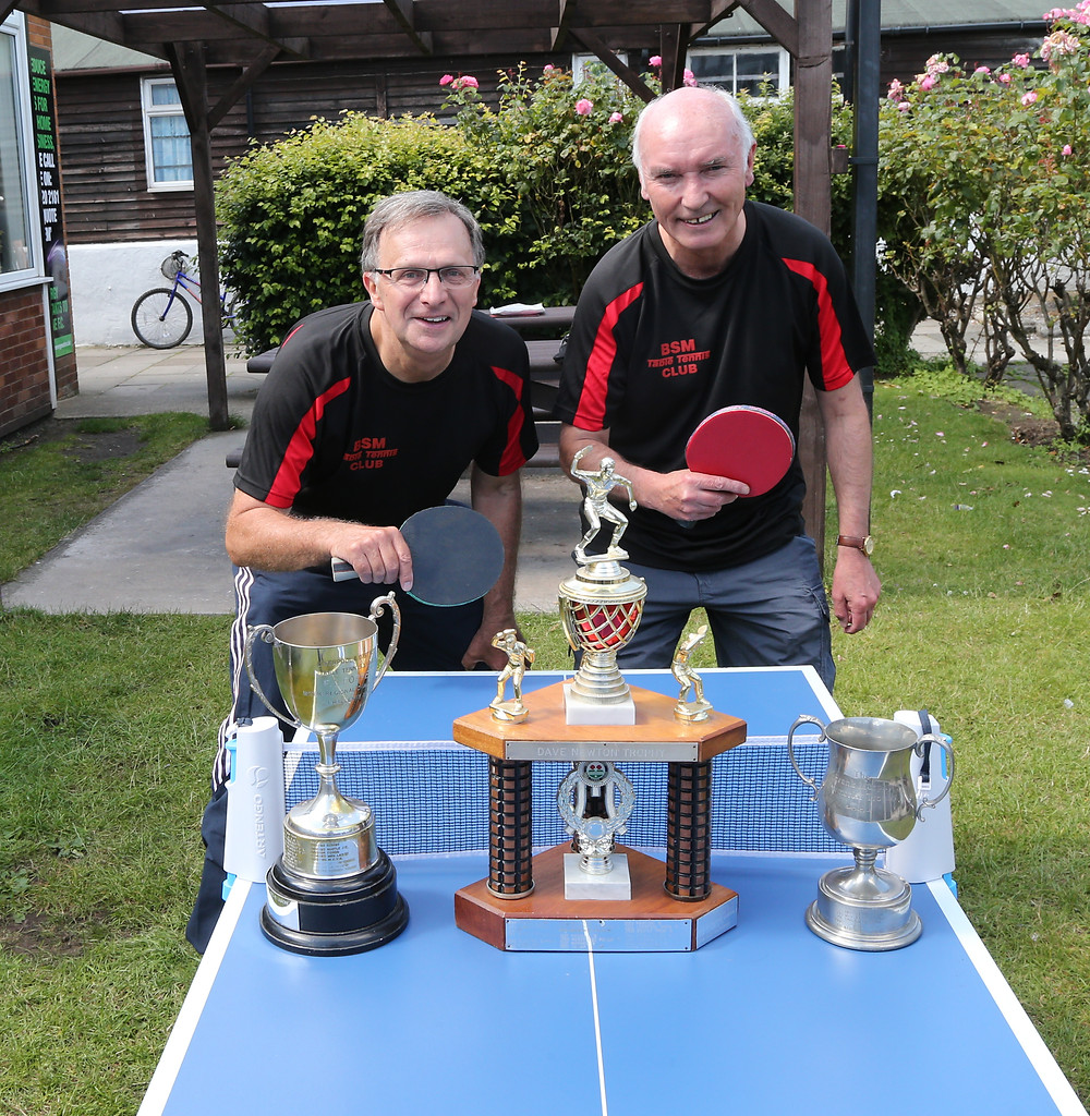 Graham Turner & Keith Dudley (Captain) part of the successful E Team
