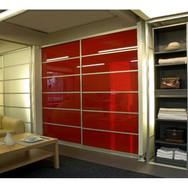 Closet Doors + Color design