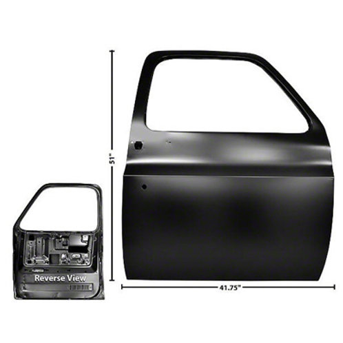Chevy/GMCFRONT PASSENGER SIDE DOOR SHELL (1977-1991)