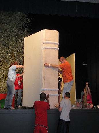 Stage design and construction