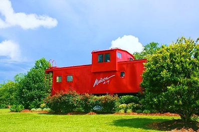 Madison the City Red Caboose