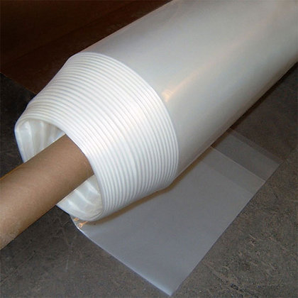 6 mil Clear Plastic 50x100