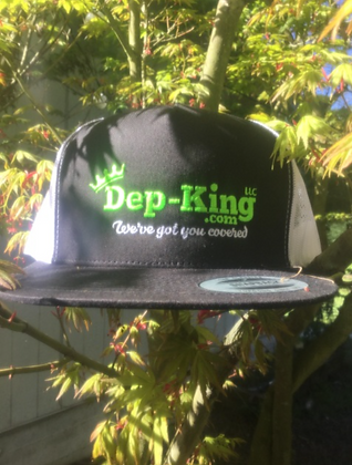 Dep-King® Trucker Cap / Black