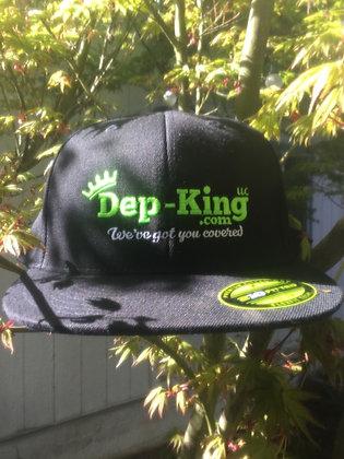 Dep-King® Flat Cap / Black