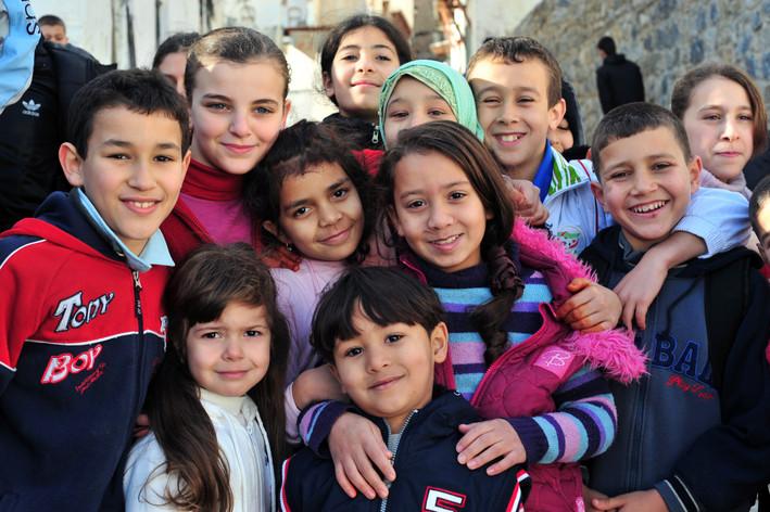 Portrait d'enfants Algérie