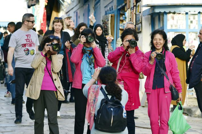 Touristes Chinoises