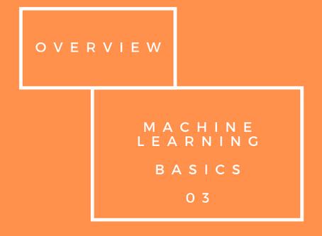 Machine Learning Basics - Tree Based Models