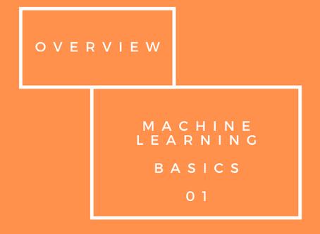 Machine Learning Basics - Model Evaluation 01