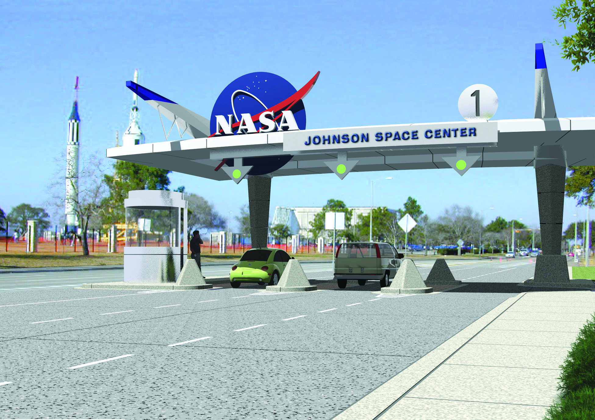 NASA JSC Entrance Gate Concept